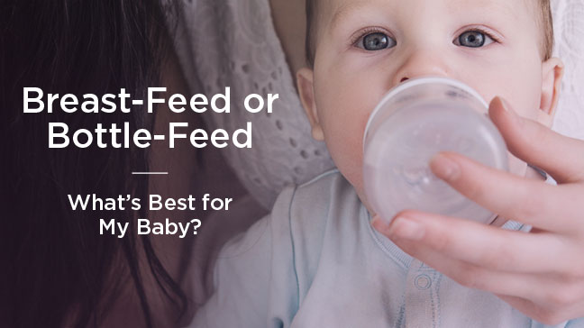 "Should our baby be breastfed or bottle-fed?"" ""Can solid foods be given too soon? How do I know if my baby has eaten enough? ""Do I give my baby juice from a cup or a bottle? Should solid foods be warmed?"
