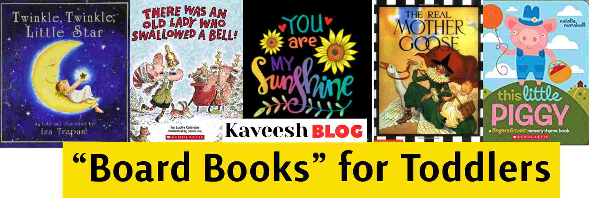 "Board Books"" for Toddlers-kaveesh.com"