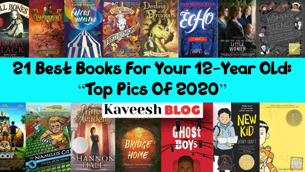 """21 Best Books For Your 12 Year Old_ """"Top Pics Of 2020"""" (1)"""