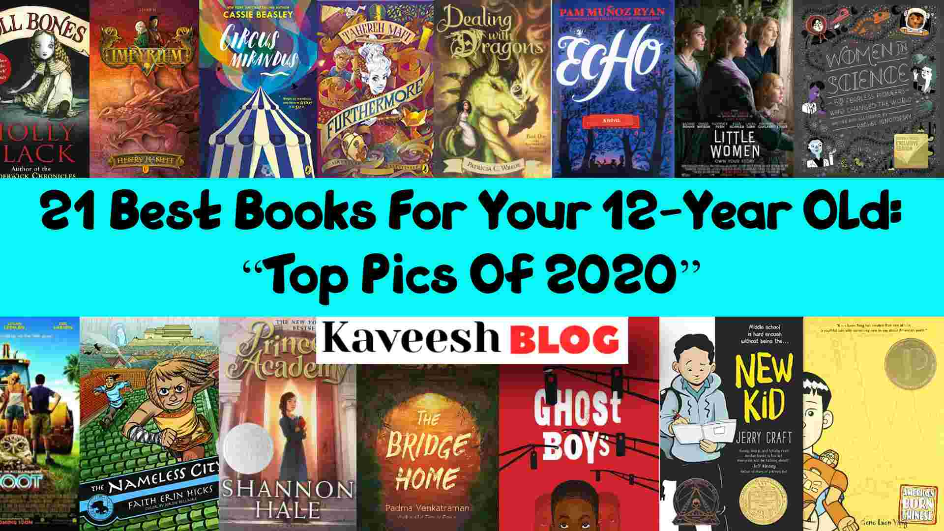 "21 Best Books For Your 12 Year Old_ ""Top Pics Of 2020"" (1)"