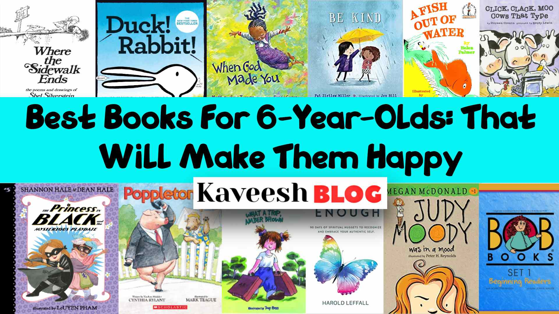 Best Books For 6-Year-Olds_