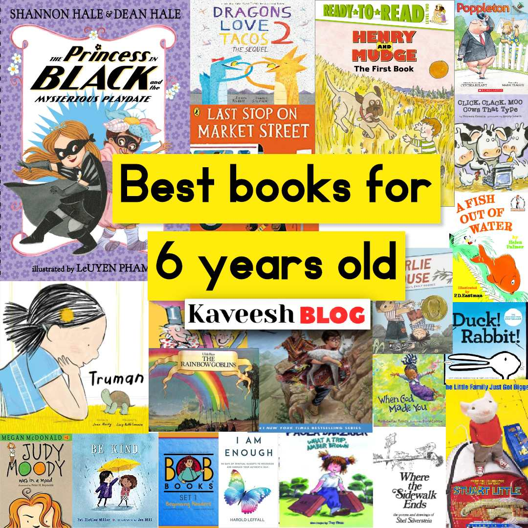 Best books for 6 years old
