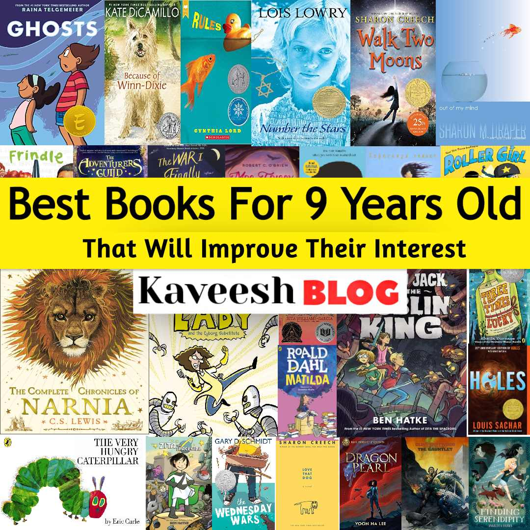 Best books for 9 years old