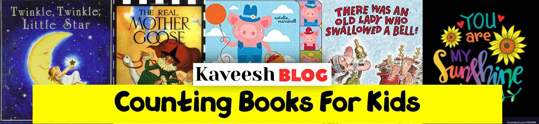 Counting Books FOR KIDS- KAVEESH.COM