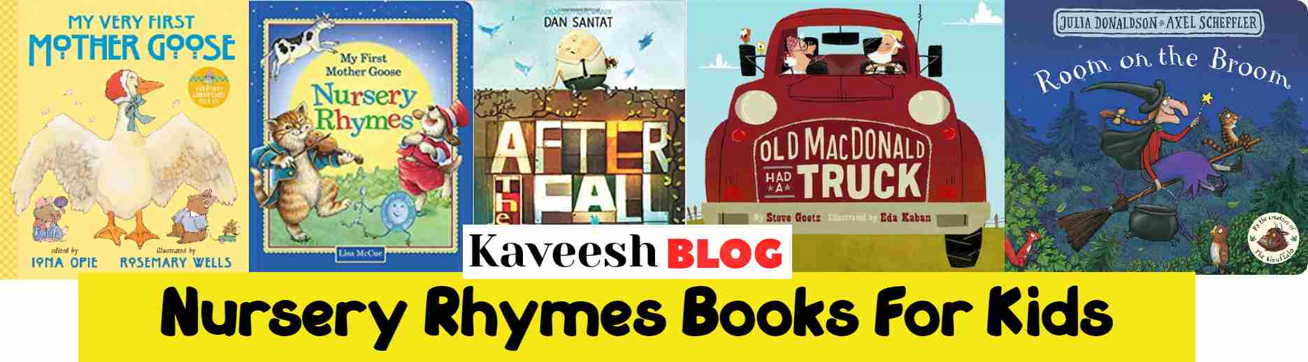Nursery Rhymes Books for kids-kaveesh.com
