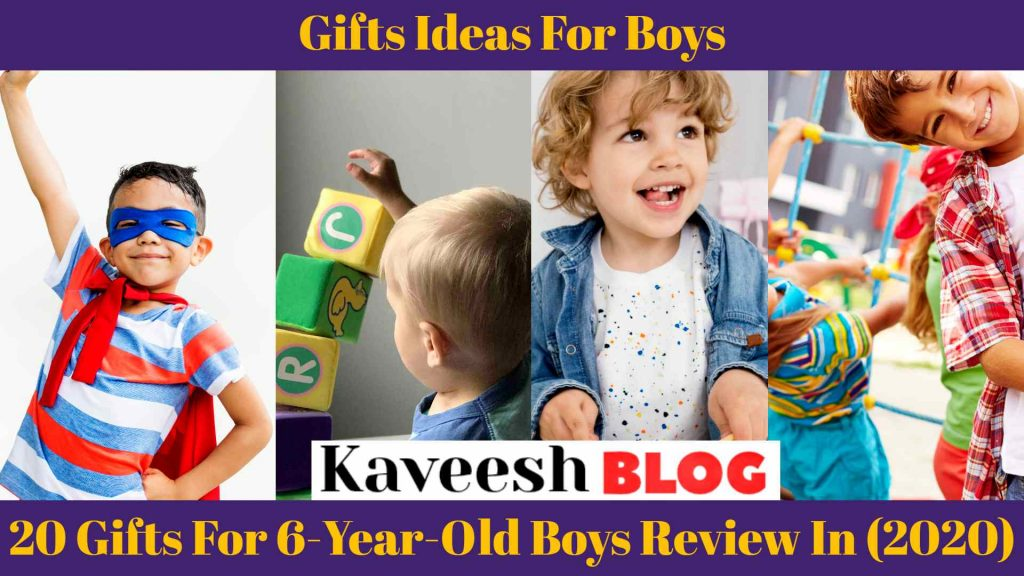 20 Gifts For 6-year-old boys Review In (2020) 1