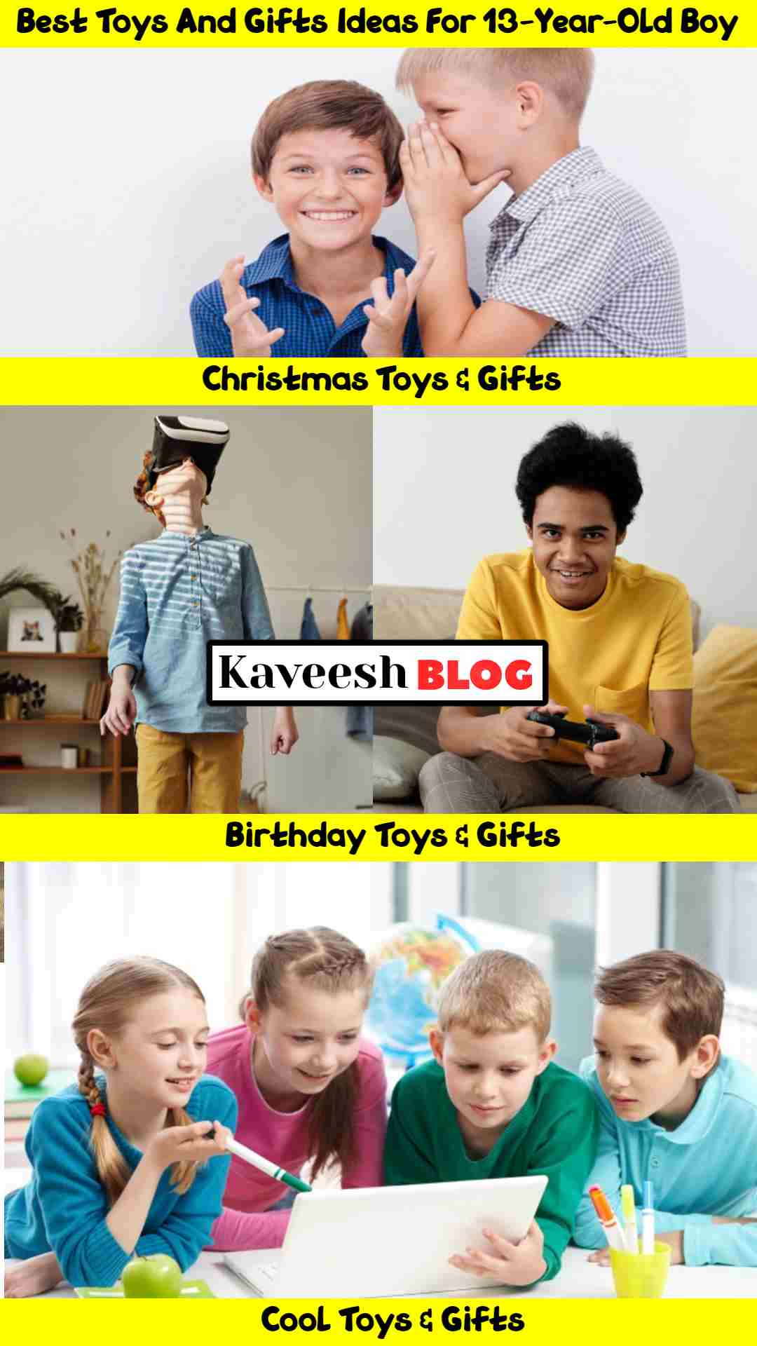 40 Best Gifts For 13-year-old Boys In (2020) Toys & Gifts Ideas For Boys (1)
